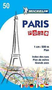 Paris Plan Poche: 2010 (Michelin City Plans)