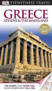 Greece: Athens & the Mainland. (DK Eyewitness Travel Guide)-ExLibrary