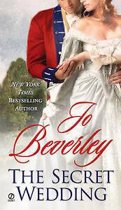 """VERY GOOD"" The Secret Wedding, Beverley, Jo, Book"