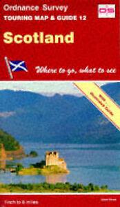 Scotland (Touring Maps & Guides), Ordnance Survey, Very Good Book