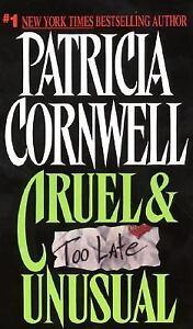 Cruel & Unusual - Patricia D. Cornwell (Paperback)