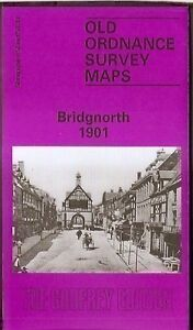 ORDNANCE SURVEY MAP, BRIDGNORTH, SHROPSHIRE 1901