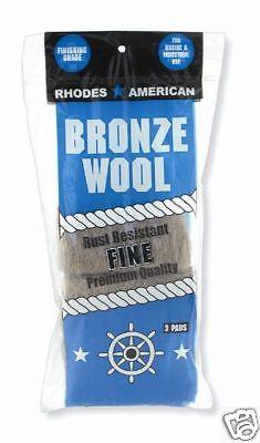 Bronze Wool 3 Pad Pack - Fine