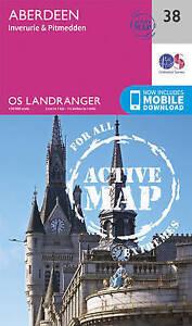 Ordnance Survey-Aberdeen, Inverurie & Pitmedden  AC NEW