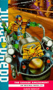 Judge Dredd-The Savage Amusement, Bishop, David, Used; Good Book