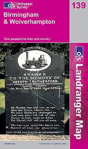 Birmingham and Wolverhampton (Landranger Maps) (OS Landranger Map), Ordnance Sur