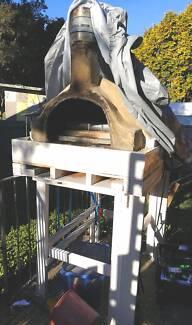 Wood oven handmade