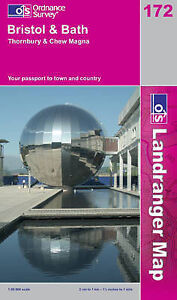 Bristol-and-Bath-Thornbury-and-Chew-Magna-Landranger-Maps-OS-Landranger-Map
