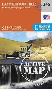 Ordnance Survey-Lammermuir Hills  AC NEW