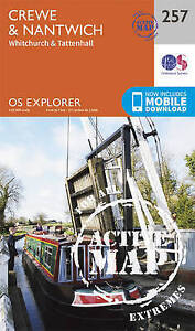 Ordnance Survey-Crewe And Nantwich, Whitchurch And Tattenhall  AC NEW