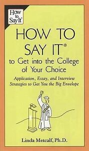 Essay to get into college