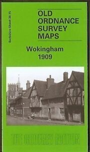 ORDNANCE-SURVEY-MAP-WOKINGHAM-BERKSHIRE-1909