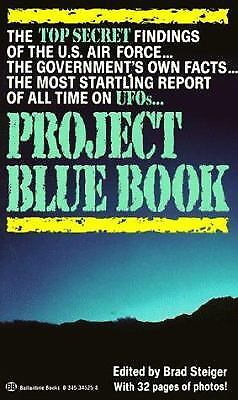 Project Blue Book By Steiger  Brad