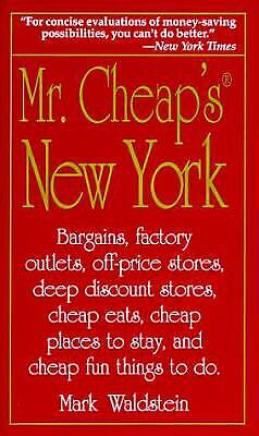 Mr. Cheap's New York : Bargains, Factory Outlets, Off-Price Stores, Deep Discoun - Adult Store Outlet
