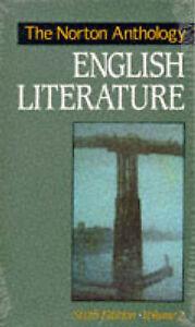 The Norton Anthology of English Literature Vol 2ExLibrary - Dunfermline, United Kingdom - The Norton Anthology of English Literature Vol 2ExLibrary - Dunfermline, United Kingdom