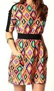 Boohoo Aztec Dress