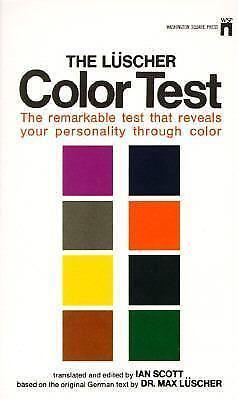 luscher color test books ebay