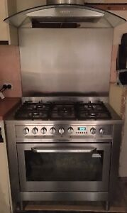 Aniston Stainless Steel Freestanding Cooker 90cm Model CP059MD AUS Diamond Creek Nillumbik Area Preview