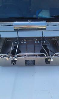 Maxie Metholated Spirit Stainless Stove Cooker   two burner boat