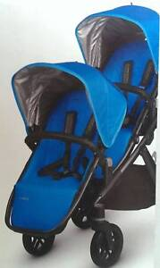 New UPPAbaby Vista (2015) Georgie Double Pram Package Essendon Moonee Valley Preview
