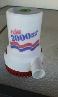 RULE 2000 Bilge Pump 24 Volts
