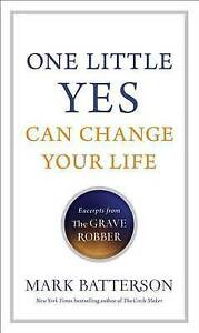 Batterson  Mark-One Little Yes Can Change Your Life  BOOK NEW