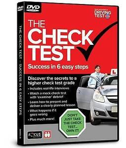The Check Test - Success in 6 Easy Steps  BOOK NEW