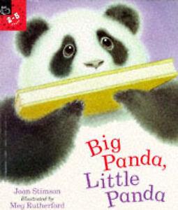 Big Panda, Little Panda (Picture Books) by Stimson, Joan, Rutherford, Meg
