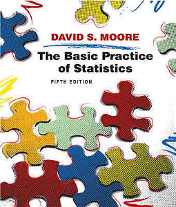 The Basic Practice of Statistics by David S. Moore (Hardback, 2009)