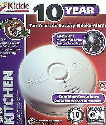 KIDDE P3010K-CO BATTERY OPERATED SMOKE CARBON MONOXIDE COMBO