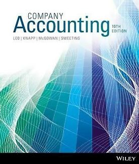 Accounting book in sydney region nsw textbooks gumtree company accounting book 10th edition with solution fandeluxe Images