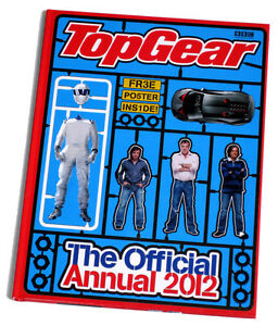 TOP GEAR OFFICIAL ANNUAL BOOK STORIES PUZZLES 2012