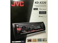 Car Stereo JVC KD-X220