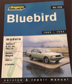 Gregory's Bluebird Service & Repair Manual St Agnes Tea Tree Gully Area Preview