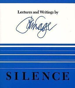 Silence-Lectures-and-Writings-by-John-M-Cage-1961-Paperback