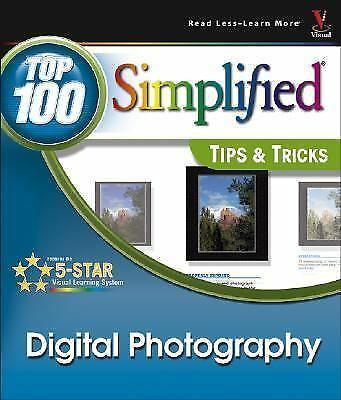 Digital Photography: Top 100 Simplified Tips & Tricks-ExLibrary 1
