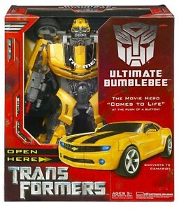 The Original Transformers Ultimate Bumblebee MINT in sealed box