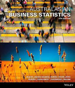NEW - FAST to AUS - Australasian Business Statistics by Ken Black (4 Ed)