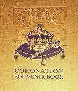 Coronation Souvenir Book 1937