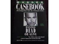 Murder Casebook Magazine & Reallife crimes magazines.