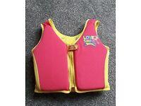 Slazenger Girls love 2 swim vest
