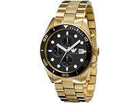 Men's Gold Armani Watch *AUTHENTIC*