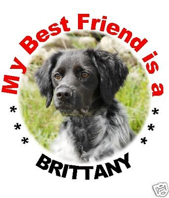 2 Brittany Car Stickers By Starprint - Auto combined postage
