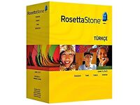 Rosetta Stone Turkish level 1,2 &3 interactive software