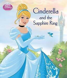 Disney Princess Cinderella and the Sapphire Ring Book (Paperback 2015) New