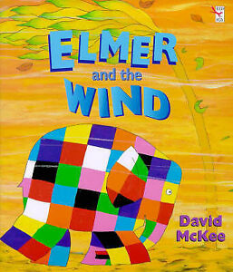 Elmer-And-The-Wind-David-McKee-Used-Good-Book