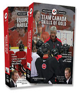 Hockey Canada SKills of Gold 8 DVD set watched once.
