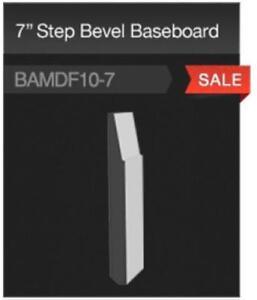 "7"" STEP BEVEL BASEBOARD ON SALE"
