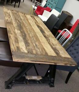 Industrial Reclaimed Low Height Dining Table