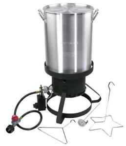 30 Quart Turkey Fryer 01708  - Fry/Boil/Steam - FREE SHIPPING